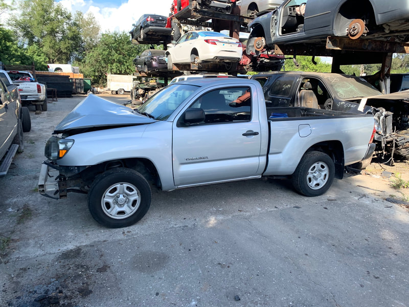 2005 Tacoma Standard Cab 2.7L 4 cyl manual transmission