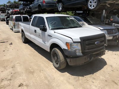 2014 F150 extended cab 4X4 3.5 Ecoboost turbo engine automatic transmission